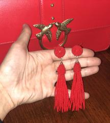 H&M Koralno crvene mindjuse NOVO