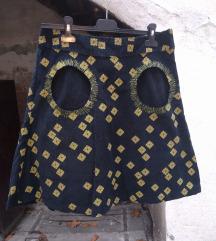 Šarena somotska suknja