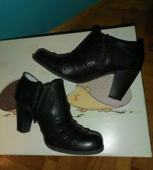 Poslovne crne kozne cipele br.36