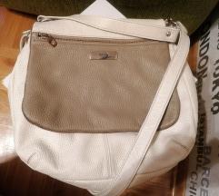 MONA belo-siva torba