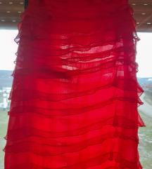 P.S crvena haljinica S/M