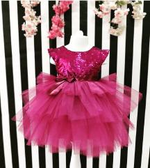 NOVO haljinica za devojcice 5-9