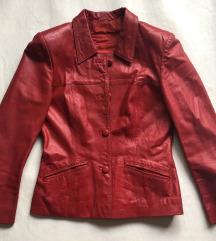 Crvena jakna RASPRODAJA dodatne slike