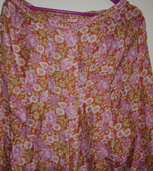 Vintage svilena suknja