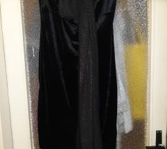 Haljina crna top elegantna