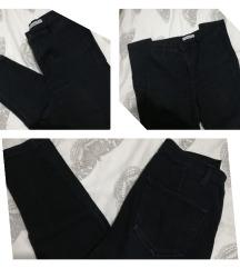 Pull&Bear crne pantalone