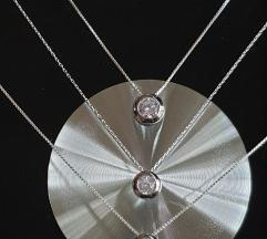 Srebrne ogrlice,TRENDY,KRACE 1500din.