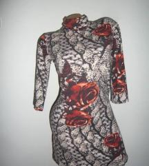 Nesvakidašnja haljina sa ružama🌹