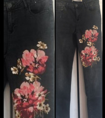 Denim&Co. floral print farmerke