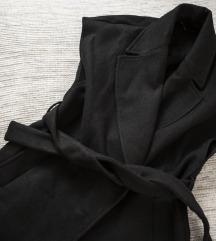 Zara crni kaput bez rukava, vel. XS