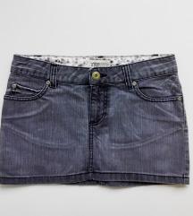ZARA TRF | Teksas mini suknja