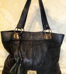 Mona - odlična kožna XL torba