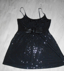 Elegantna crna ORSAY tunika/haljina, potpuno nova