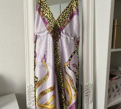 Letnja prelepa svilena haljina