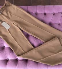Noix pantalone visoki struk sa kaisem i etiketom