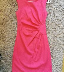 Koralno roze haljina