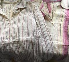 Dve pamučne ženske košulje