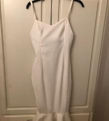 Haljina sivena bela