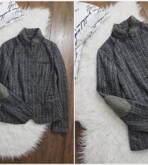 Opus 36 knit collar sako * kao NOVO