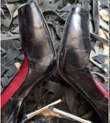 Le Silla kožne Peep Toe cipele, original