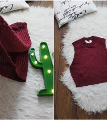H&M * 38 * crop top knit NOVO
