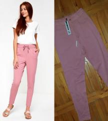 *NOISY MAY* roze pantalone/trenerke NOVO