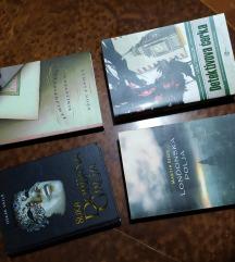 Knjige po 300 dinara. 4 za 1000.