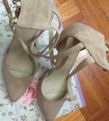 Sandale puder roze boje