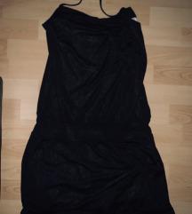 Crna letnja haljinica 38
