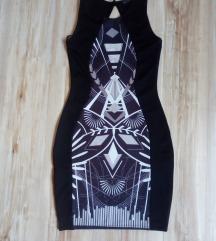Nova crna haljina SADA 500DIN
