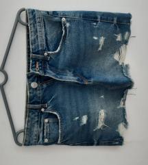 Zara teksas suknja S