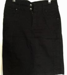 Crna TNT jeans - nova suknja