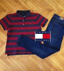 Tommy Hilfiger polo prugasta majica ORIGINAL