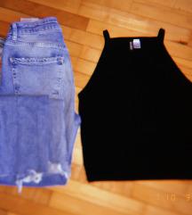 Crni H&M top (S)