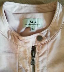 Puder roza jaknica XL NOVO