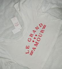 Kratka majica dugih rukava (crop top) / NOVO
