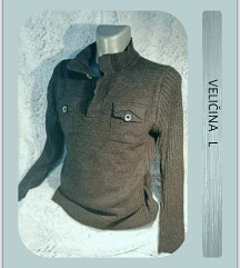 6.4. Vuneni L muški džemper