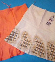 Dve lanene suknja 36