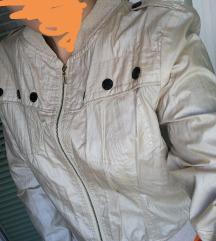 Bomber zlatna jakna