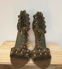 Sandale sa stiklom