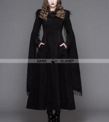 Devil Fashion Morticia Addams kaput Punkrave XS