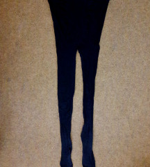 Crni hulahop čarape za trudnicu M - 40 dena