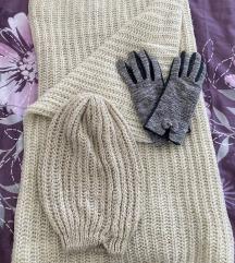Kapa šal i rukavice