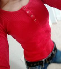 Neodoljiva body crvena bluza 💞rasprodaja