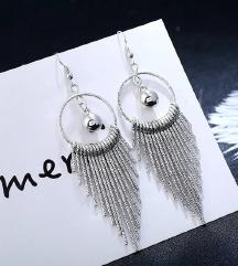 Glamurozne srebrne mindjuse