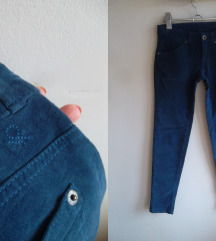 Benetton plave skinny pantalone, S