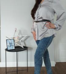 Zara svilena kosulja