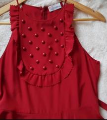 Crvena haljina Valentino