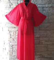 haljina crvena vintage