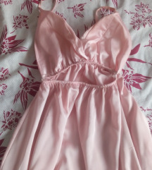 Duga bebi roze haljina